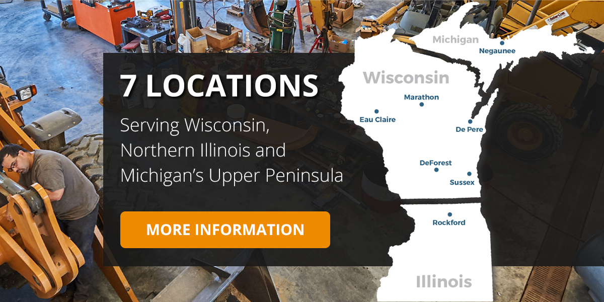 Serving Wisconsin, Illinois, and Michigan's Upper Peninsula.