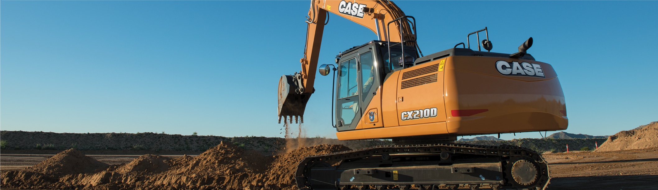 New CASE construction equipment